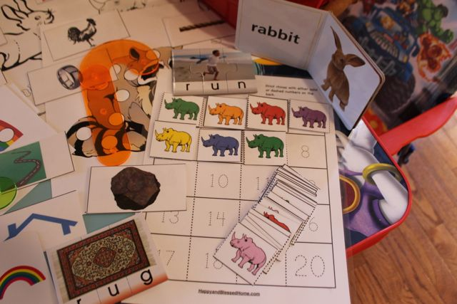 Learn to Read Preschool Letter R3 HappyandBlessedHome.com
