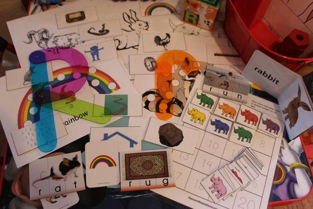 Learn to Read Preschool Letter R4 HappyandBlessedHome.com
