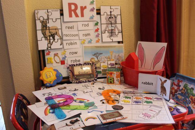 Learn to Read Preschool Letter R5 HappyandBlessedHome.com