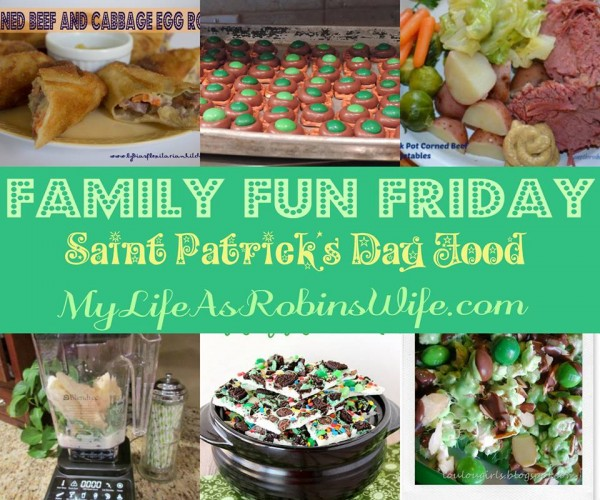 St. Patrick's Day Recipes Family Fun Friday