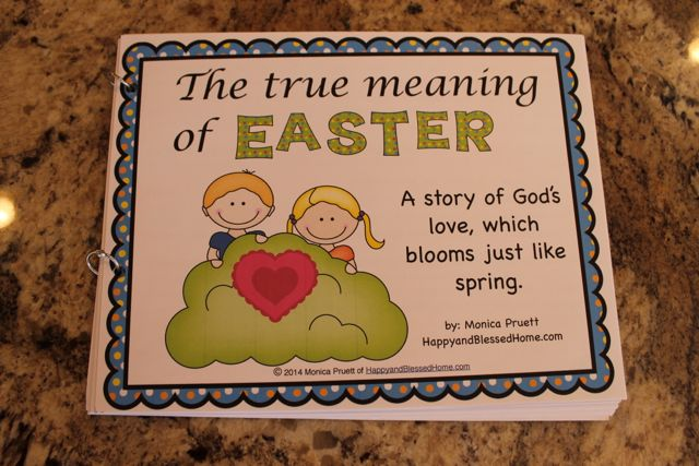 The True Meaning Of Easter front cover