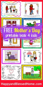 300 FREE Mothers Day Book for Kids HappyandBlessedHome