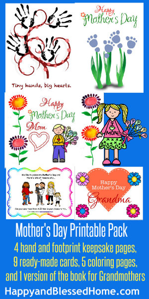 300 Mothers Day Printable Pack