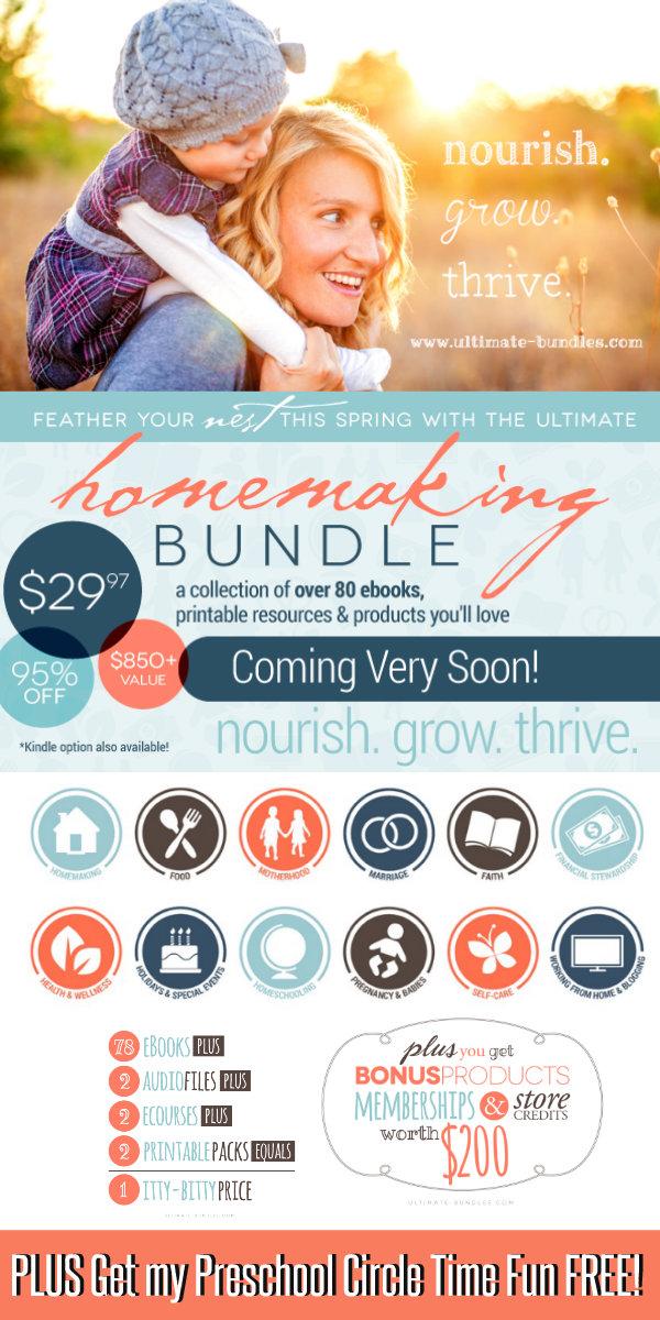 600 Ultiate Homemaking eBook Bundle Coming Soon
