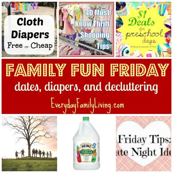 Thrifty Saving Tips Family Fun Friday