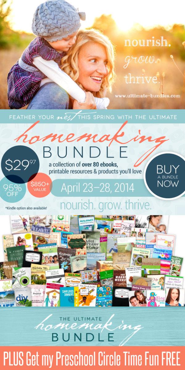 Ultimate Homemaking Bundle HappyandBlessedHome.com