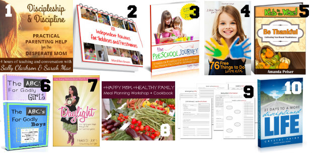 Ultimate Homemaking Bundle Top 10