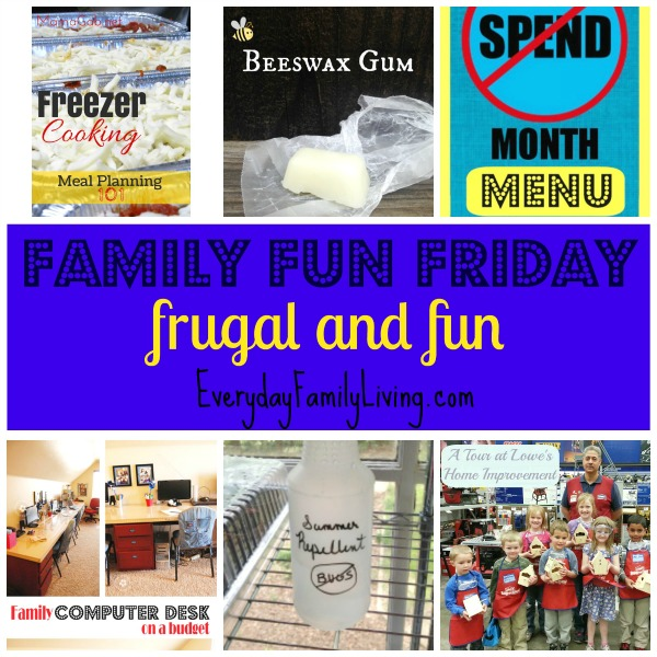 frugal and fun Family Fun Friday