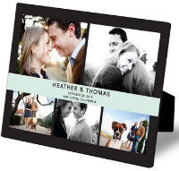 banded photo frame