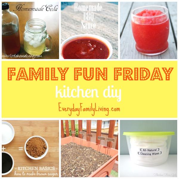 kitchen DIY for Family Fun Friday  EverydayFamilyLiving.com