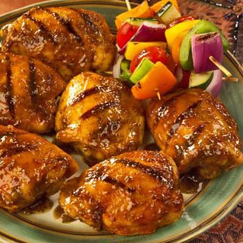spicy bbq chicken