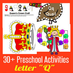 250 Learn to Read Preschool Letter Q HappyandBlessedHome
