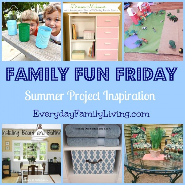 600 Family Fun Friday Summer Inspired Projects