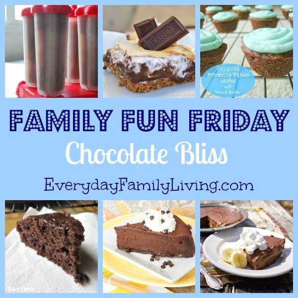 Family Fun Friday Chocolate Bars