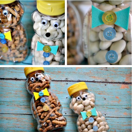 Fathers Day Snack Jars