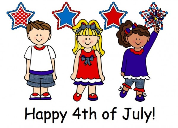 Fourth of July Children and Cover