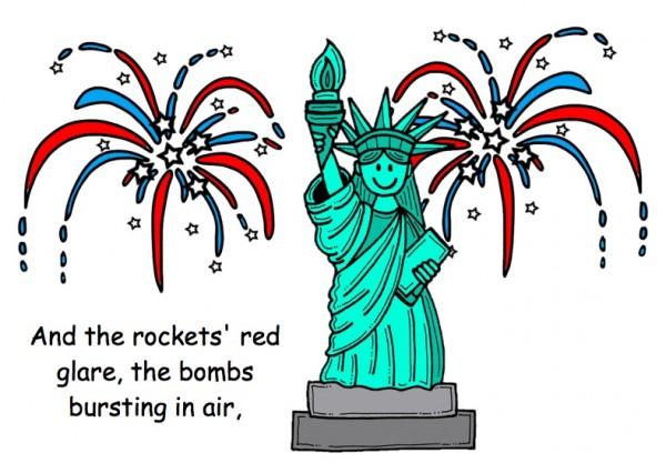 Fourth of July Lady Liberty