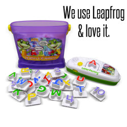 Leapfrog Letters and Numbers