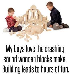 building blocks wooden