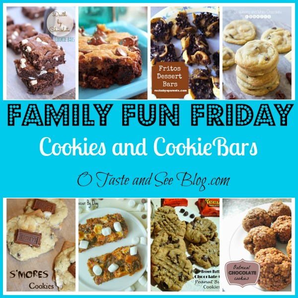 Cookies and Cookie Bars Family Fun Friday