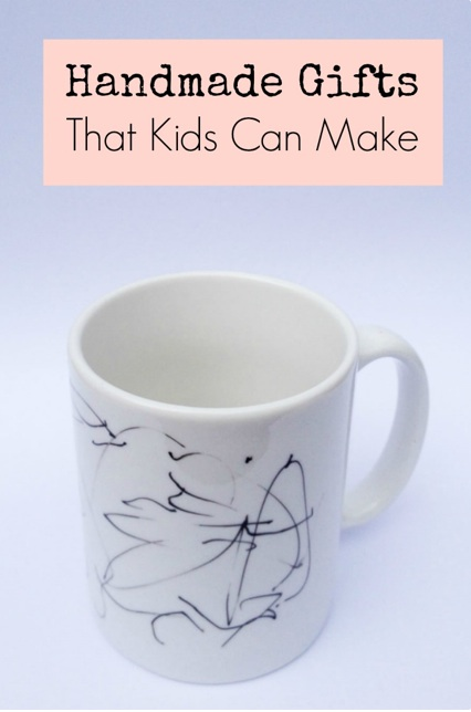 crafts on sea mug by kid