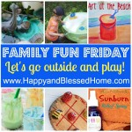 Family Fun Friday Go Outside and Play
