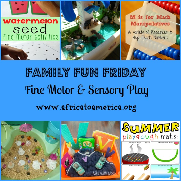 Sensory Play Family Fun