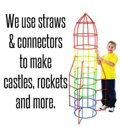 straws and connectors