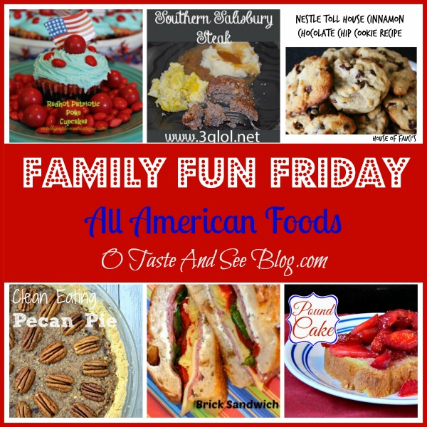 Family Fun Friday All American Foods