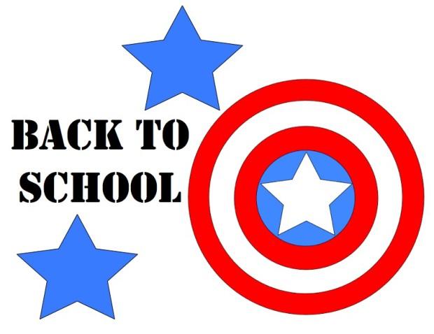 Captain America Back to School