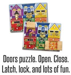 Doors puzzle board