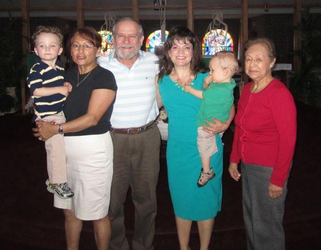 Family at Church