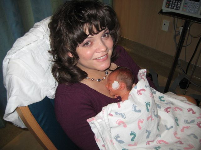 Mommy and first baby HappyandBlessedHome