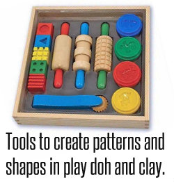 Play doh shapes