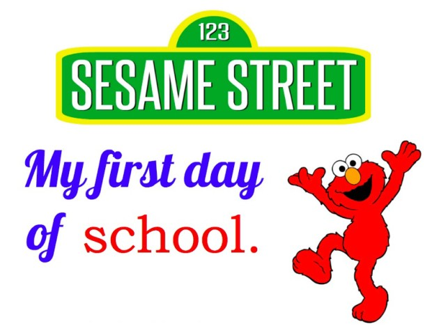 Sesame Street button