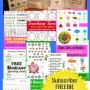 Till Sept 2014 Subscriber FREEBIE Preschool Circle Time Morning Board Printables for a Limited Time Jun 21 - Aug 21 2014 HappyandBlessedHome