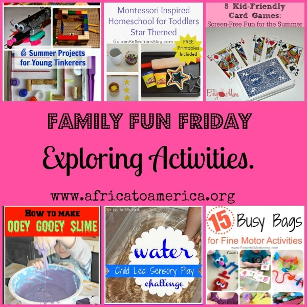 Fun Friday Exploring Activities