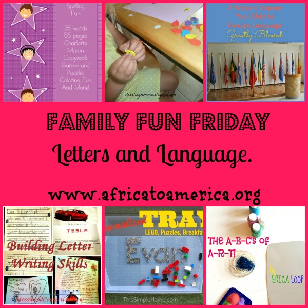 Letters and Language Family Fun