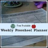 preschool-planner