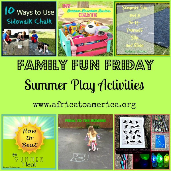 Summer Play Family Fun