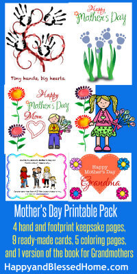 200 Mothers Day Printable Pack