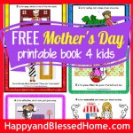 403 FB FREE Mothers Day Book for Kids HappyandBlessedHome