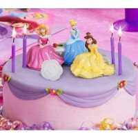 princess birthday party cake topper