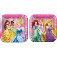 Princess Birthday Party Plates