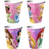 Princess Birthday Party Cups