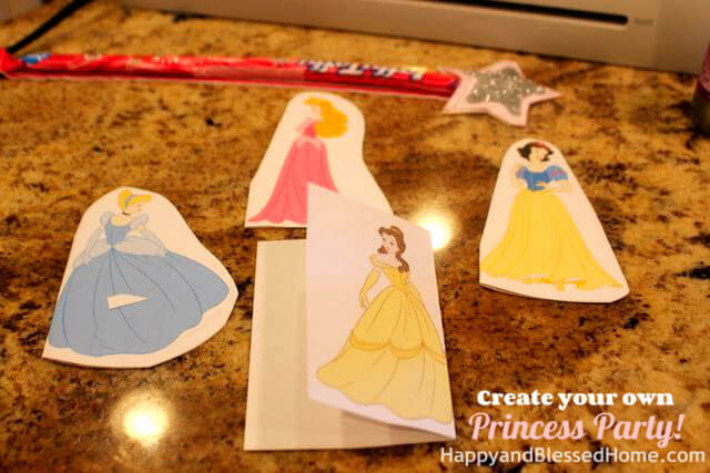 Create Your Own Princess Birthday Party FREE printables 3 HappyandBlessedHome.com.jpg