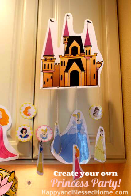 Create Your Own Princess Birthday Party FREE Printables 4 HappyandBlessedHome