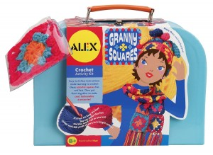 Letter Y Granny Squares Craft Kit