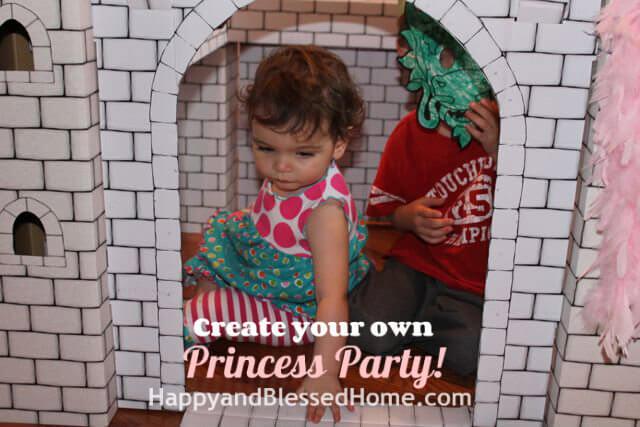 Princess Birthday Party Castle Play