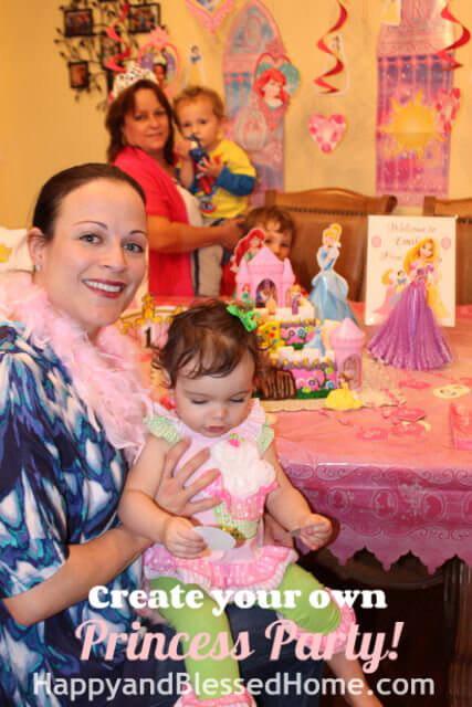 Princess Birthday Party Mommy and Princess